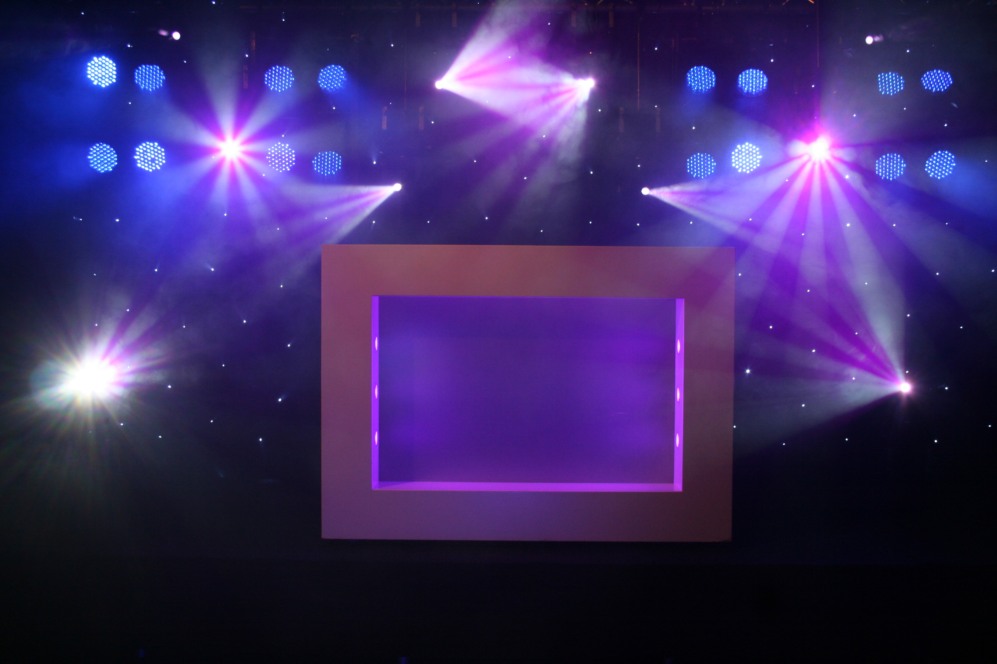 LED square design show